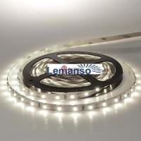 Лента светодиодная 5Вт/м 60Led/м белая IP65 на скотче