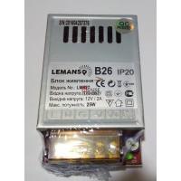 Блок питания 25W для светодиодной ленты IP20