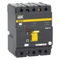Автоматический выключатель ВА 88-33 3Р 125А 35кА 380В ИЕК