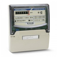 Трехфазный электросчетчик ЦЭ 6803В/1 1Т 220В 5-50А М7Р32