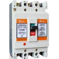 Автоматический выключатель Electro ВА 77-1-125 3Р 80А 17,5кА 380В